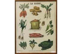 La Soupe-Framed Print