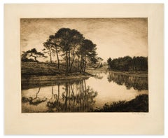 Landscape - Original Print - 19th Century