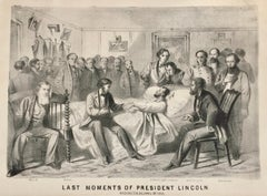 LAST MOMENTS OF PRESIDENT LINCOLN