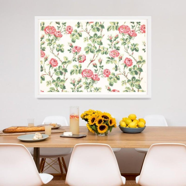 Unknown Abstract Print - Le Mural No. 23, giclee print, framed