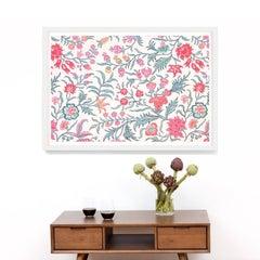 Le Mural No. 7, giclee print, framed