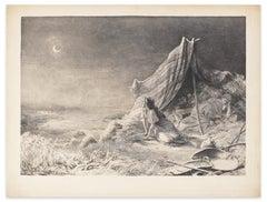 Le Repos dans le Desert - A.M. Roussel - 1910