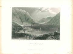 Leemane, Connemara - Original Lithograph - Mid-19th Century