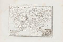 Les Vosges - Original Lithograph - 19th Century