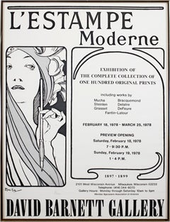 L'Estampe Moderne  - David Barnett Gallery Exhibition, Feb. 18, 1978 - Mar. 25,
