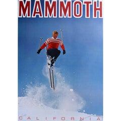Mammoth Mountain California Vintage Ski Resort Poster (1967)