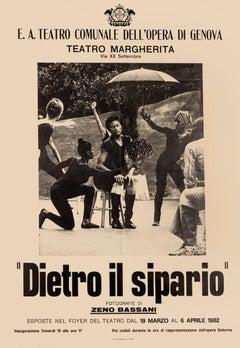 Margherita Theatre - Vintage Poster - Offset Print - 1982