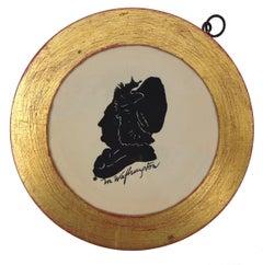 Martha Washington Silhouette