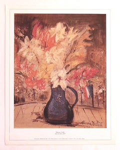 Maurice Utrillo - Exhibition Poster - Original Offset Print - 1975 ca.