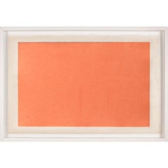Modern Color Study Rectangle no. 4, silkscreen, framed