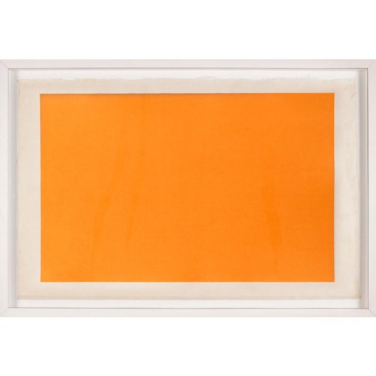 Unknown Abstract Print - Modern Color Study Rectangle no. 6, silkscreen, unframed
