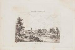 Montauban - Original Lithograph - 19th Century