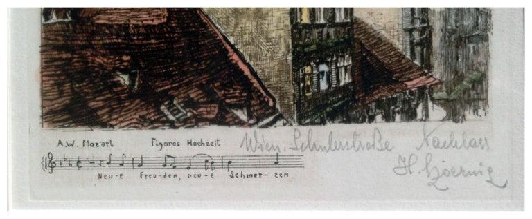 Mozart Symphony - Impressionist Print by HENRY GOERING