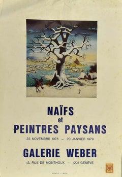 Naifs - Vintage Poster - Galerie Weber 1979