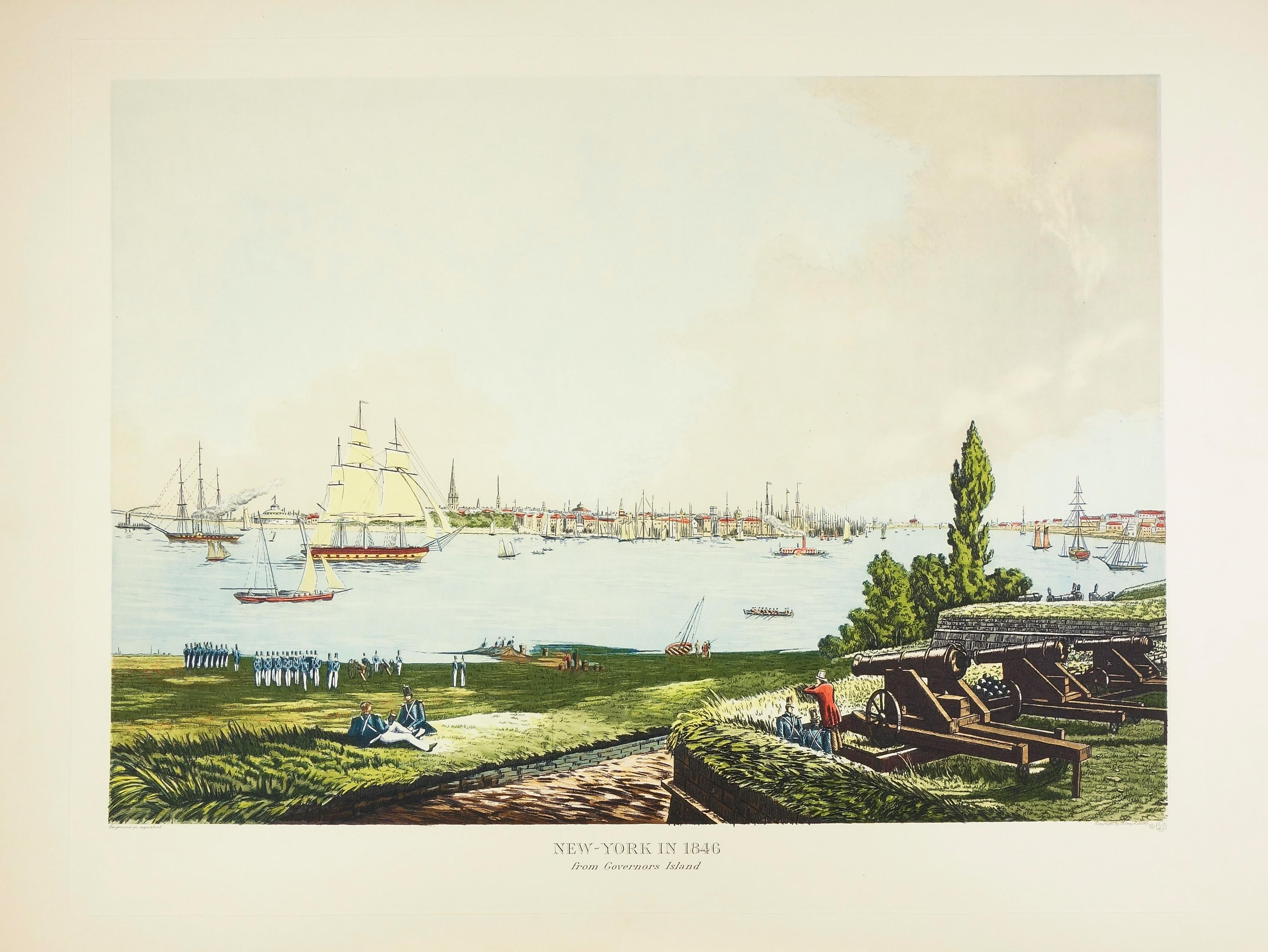 New York, Governor's Island, 1846