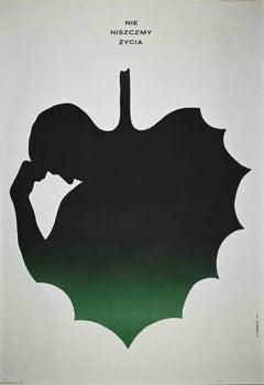 Niszczmy Zycia - Vintage Offset Print - 1975