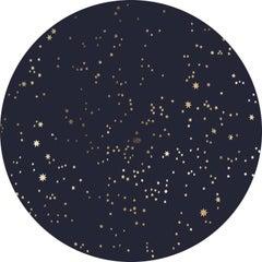 Odessa Stars, No. 3, aluminum composite material, shiny gold