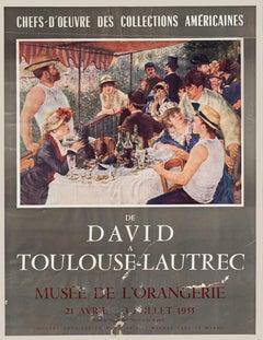 Orangerie Museum - Vintage Poster - Offset Print - 1955