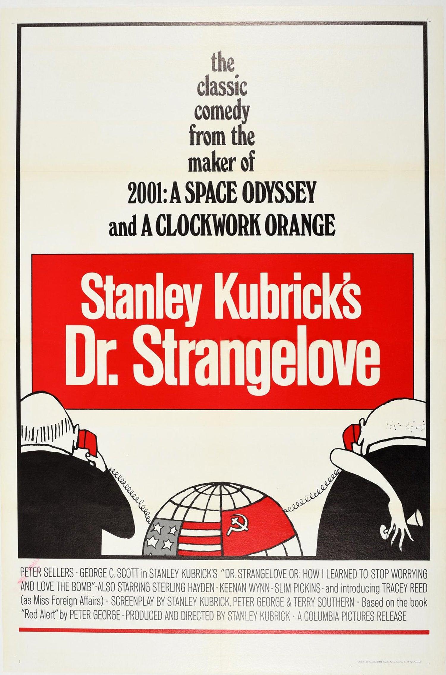 Dr Premium Photo Paper Poster Retro Style Movie Poster Strangelove Poster