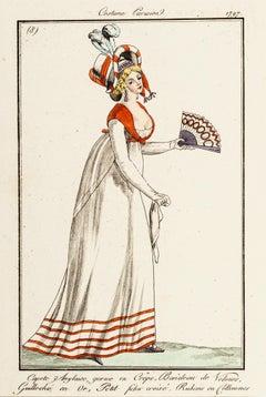 Parisian Costume no. 8 - From Le Journal des Dames et des Modes - 1797