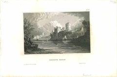 Pembroke Castle - Original Lithograph - Mid 19th Century
