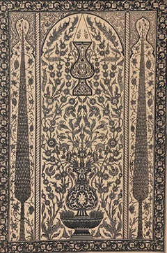 Persian-Araba Fantasy - Original Lithograph - 19th Century