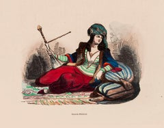 Persian Woman - Original Lithograph - 1848 ca.
