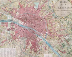 Plan de la Ville de Paris, 1816