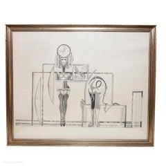 Ponte Corvo Black & White Surrealist