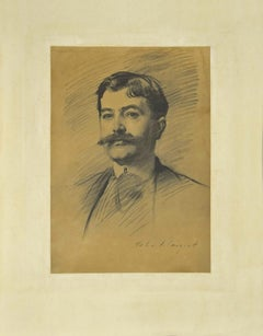 Portrait of a Man - Phototype Print Late 19th Century