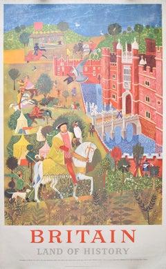 Poster - Britain Land of History Hampton Court Henry VIII