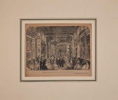 Reception of the Duchess of Sutherland - Original Zincography - 1864