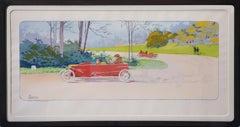 Red Racing Car.