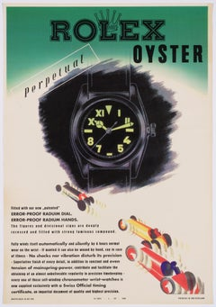 Rolex Oyster – Original Vintage Swiss Product Poster