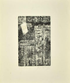 Rome - Original Etching on Paper - 1980