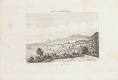 Saint Pierre - Original Lithograph - 19th Century