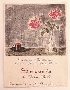 Séguéla - Exhibition Poster - Original Offset Print - 1962