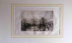 Sheffield - Original Lithograph - Mid-19th Century