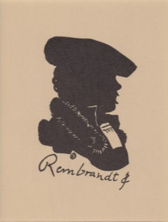 Silhouette of Rembrandt