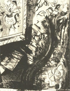 Skye Holland - Signed Contemporary Etching, Homage a Sufy