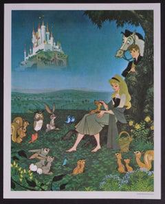 """Sleeping Beauty"" Title (Lobby Card) of Walt Disney's Movie, USA 1959."