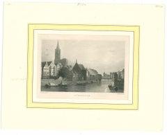 Strasburg  - Original Lithograph - Mid-19th Century