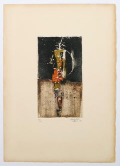 Taches de Couleur - Original Etching and Aquatint - 1970s