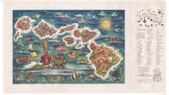 The Dole Map of the Hawaiian Islands.
