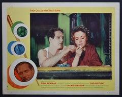 """THE HUSTLER"" Original American Lobby Card of the Movie, USA 1961."