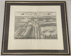 The Mote, One of the Seats of Ye Right Honorable the Lord Romney Etching c.1719