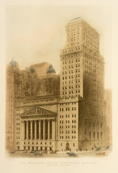 The New York Stock Exchange Building and New Addition
