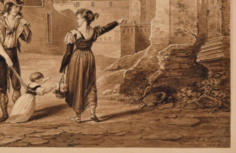 813bbbf7dcf31 The Walk - Original Etching by Anonymous Artist 19th Century