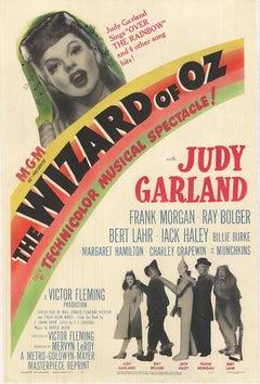 The Wizard of Oz original movie poster, Silver Anniversary