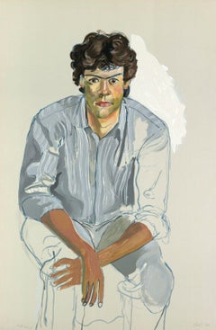 The Youth (John Cheim), Limited Edition Lithograph, Alice Neel - LARGE